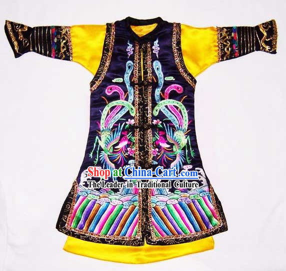 100_ Hand Made Embroidery Imperial Gown of Chinese Emperor