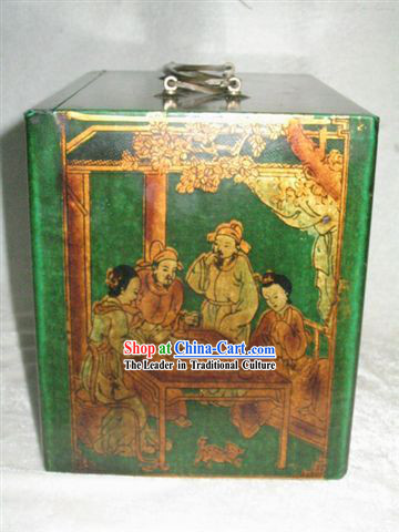 Chinese Classic Palace Antique Mahjong Box