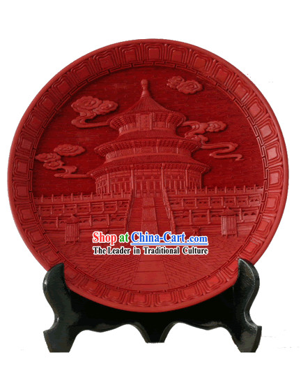 Beijing Palace Lacquer Works-Tiantan Palate