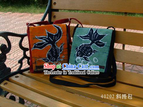 Hand Made Cotton Batik Big Bag