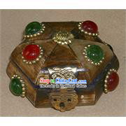 Tibet Ox Bone Jewelry Box
