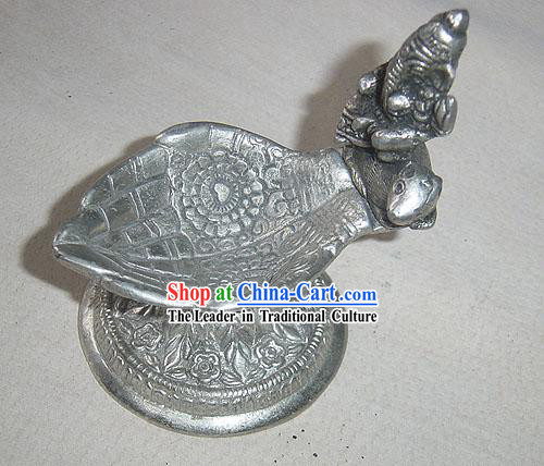 Tibet Silver Collectible Ashtray