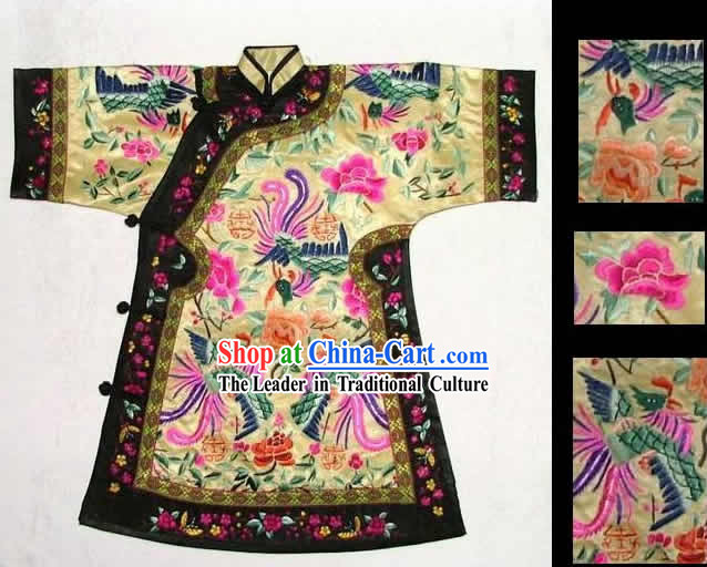 100_ Hand Made Embroidery Robe of Chinese Empress