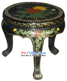 Chinese Palace Lacquer Ware Flower Shelf