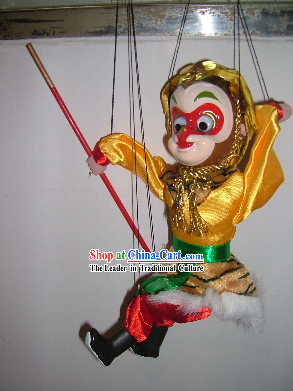 Chinese Monkey King Doll / Monkey Puppet