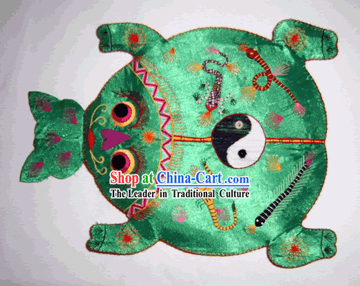 China Hand Made Cloth Craft-Frog King Pillow