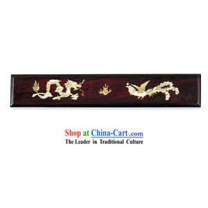 Chinese Chopsticks Box and Jewel Case-Dragon and Phoenix