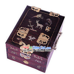 Chinese Chopsticks Box and Jewel Caskets-Deer