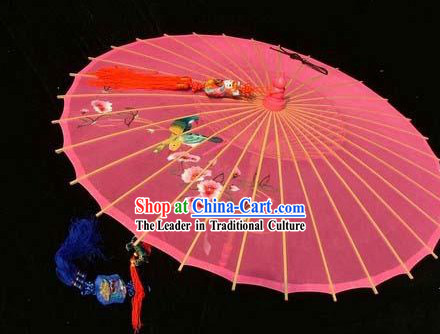 Hangzhou Classic Hand Embroidered Silk Umbrella