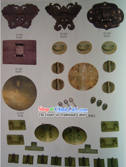Chinese Archaize Copper Furniture Supplement Home Decoration 18