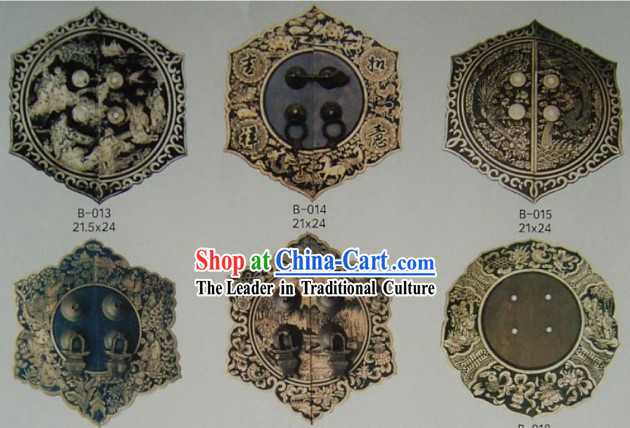 Chinese Archaize Copper Furniture Supplement Home Decoration 22