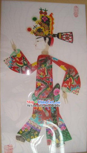 Traditional Chinese Hand Carved Shadow Play - Xi Men Qing _Playboy_