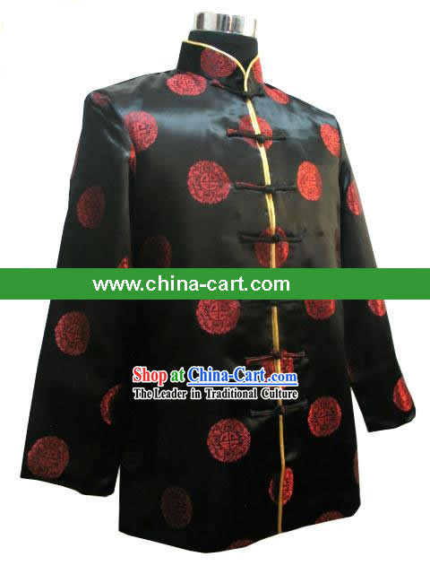 Chinese Classical Mandarin Blouse for Man