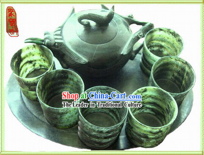 Chinese Traditional Luminated Cups Set