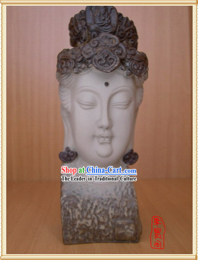 China Dunhuang Buddha Head Handicraft 1