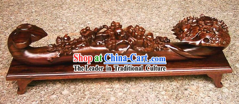 Chinese Hand Carved As You Wish Sculpture