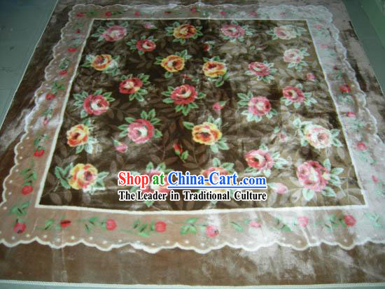 Art Decoration Chinese Thick Nobel Garden Rug_Carpet _185_192cm_