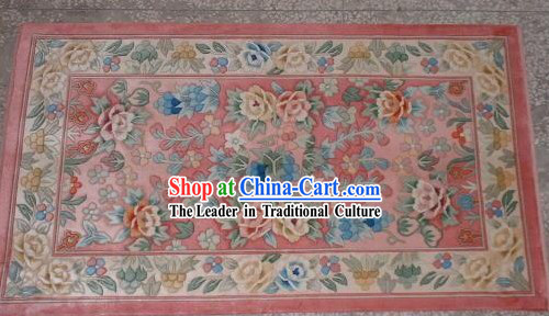 Art Decoration Chinese Hand Made Thick Silk Arras_Tapestry_Rug _55x85cm_