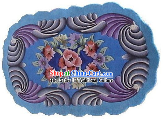 Art Decoration Chinese Hand Made Large Tapestry_Carpet _90cm_150cm_