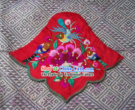Chinese Stunning Miao Tribe Hand Embroidery Collectible-Bellyband for Woman 1