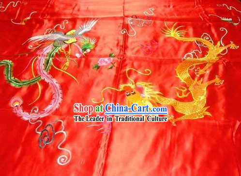 Chinese Hand Embroidery Bedcover