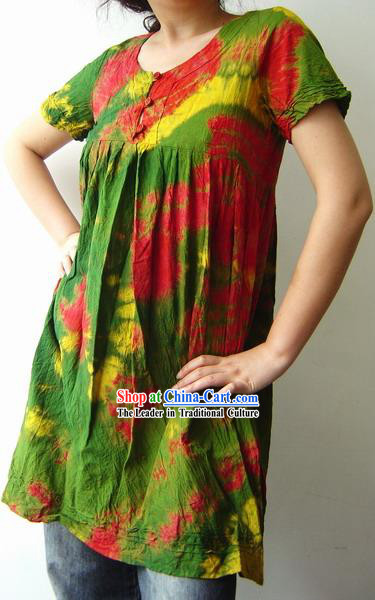 Indian Stunning Rainbow Dress for Woman