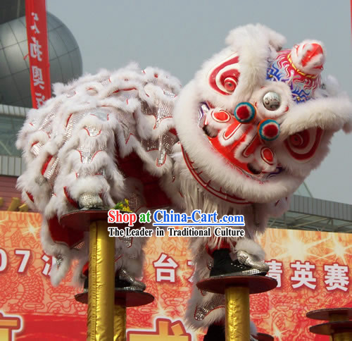 Supreme Parade and Competition Lion Dance Costume Complete Set