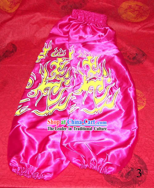 Pink Professional Competiton and Performance Dragon Dancer and Lion Dance Pants
