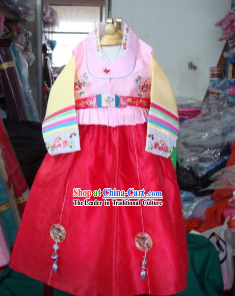 Supreme Korean Traditional Dress Hanbok for Girls