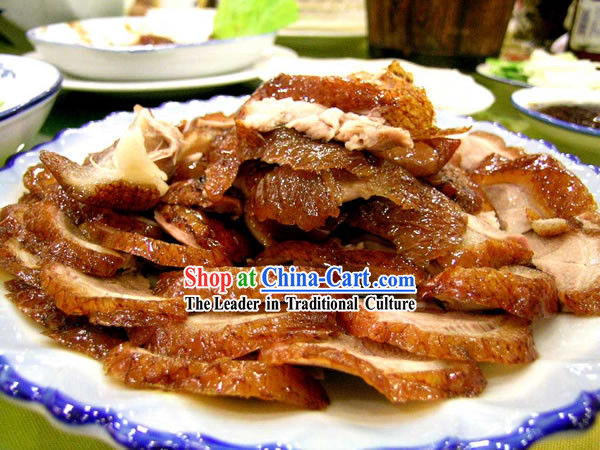 China Quan Ju De Peking Roast Duck _Beijing Most Famous Local Food__500g_