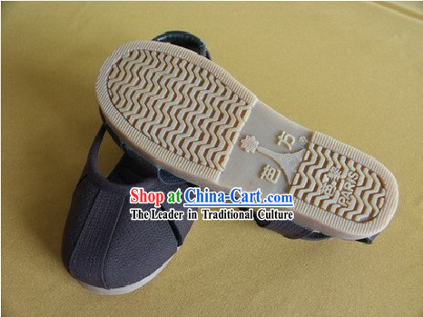 Traditional Monk Shoes of Shaolin Temple (black)