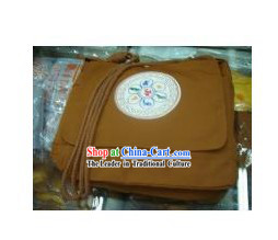 Chinese Traditional Handmade Single Shoulder Travel Bag