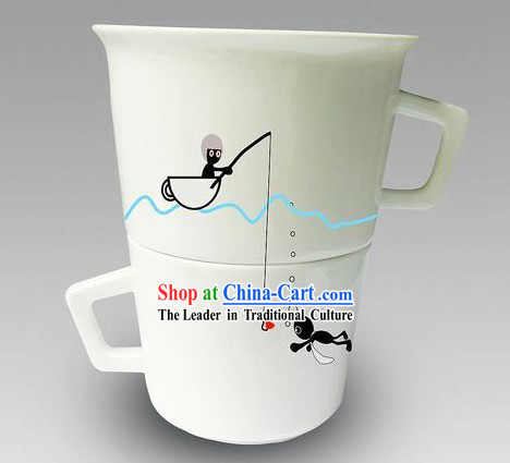 Lovers Cups Set - Christmas and New Year Gift