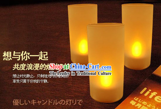 Acoustic Control Blowing Off and On Electric Candle - Christmas and New Year Gift