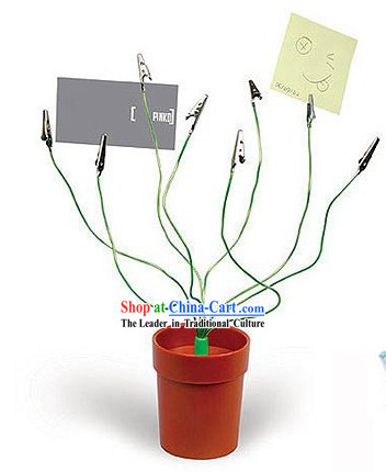 Convenient Pen Holder Plant Claps - Christmas and New Year Gift