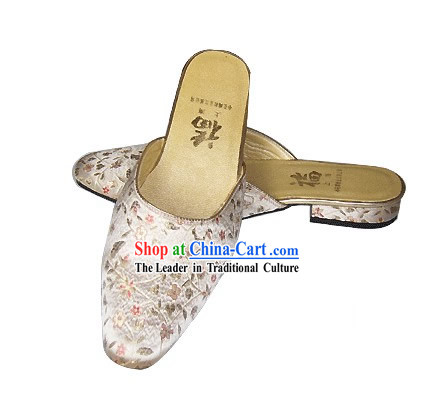 Chinese Traditional Handmade Satin Slipper