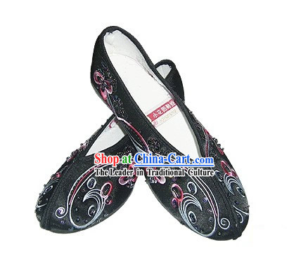 Chinese Traditional Handmade Beaded Shoes