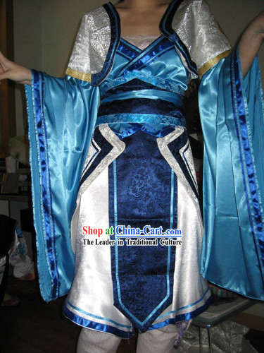 COSPLAY Chinese Ancient Women Heroin Costumes Complete Set