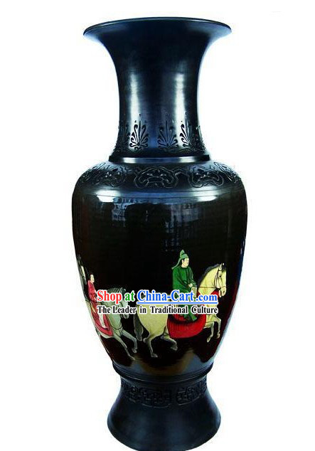 Chinese Traditional Longshan Black Pottery - Time