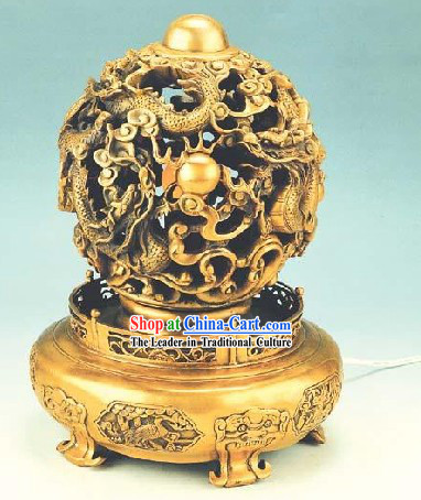 Kai Guang Feng Shui Chinese Golding Heaven and Earth Ball (all blessings)