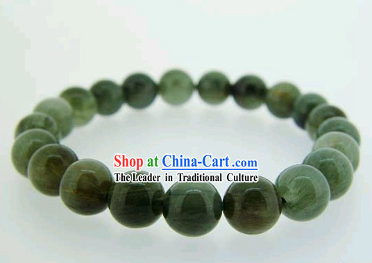 Chinese Classic Green Crystal Bracelet (being confident and decisive)