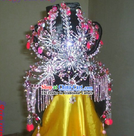 Traditional Chinese Ancient Hair Decoration Complete Set for Women _Dunhuang_