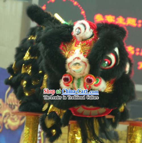 Stunning Competition and Parade Lion Dance Costumes Complete Set