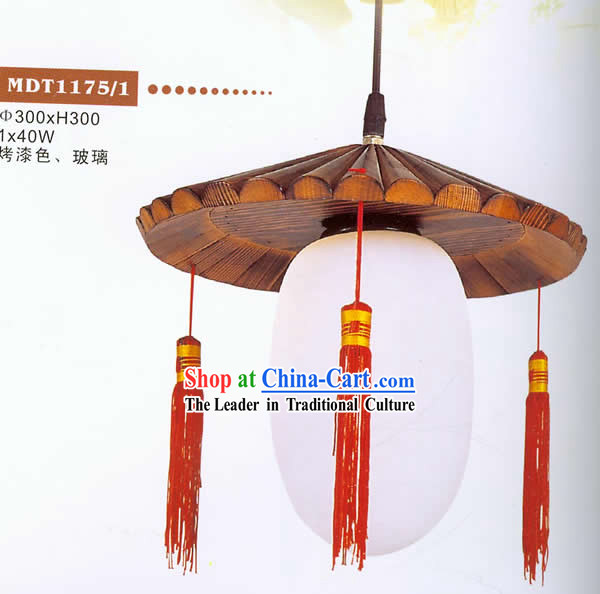 Chinese Traditional Hand Made Wooden Hanging Lantern