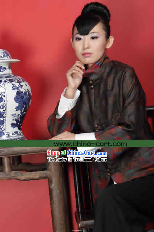 Traditional Chinese Stunning Made to Order Blouse _Tang Suit_