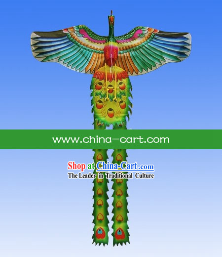 Chinese Traditional Hand Made and Painted Phoenix Kite