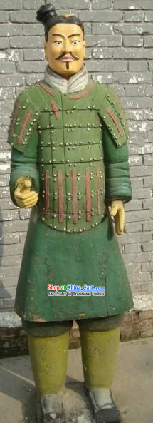 Colored Military Officer of Terra Cotta Warrior