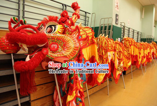 Best Dragon Dance Costumes Complete Set for Grand Opening and Festival Celebrations