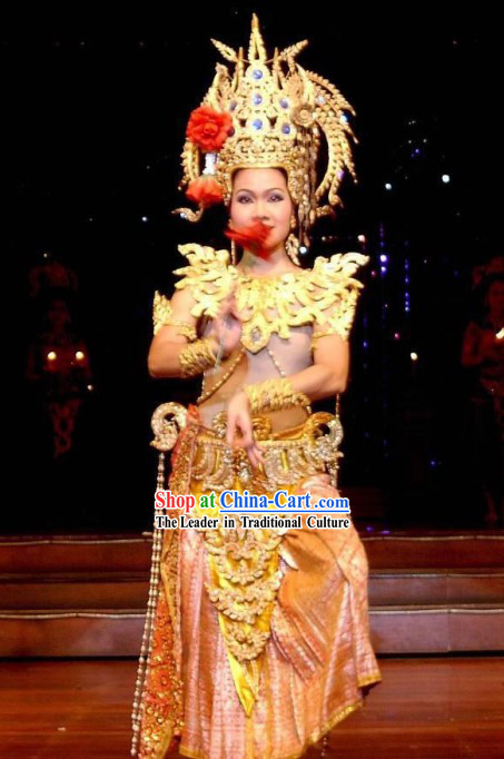 Thailand National Costumes Complete Set