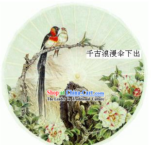 Chinese Traditional Hand Made Bird Umbrella